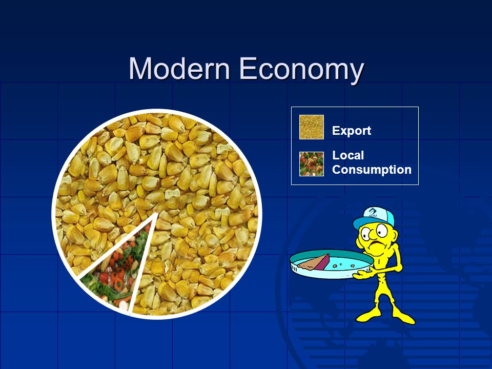 Modern Economy Export Local Consumption