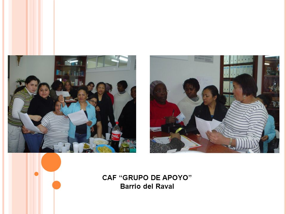 CAF GRUPO DE APOYO Barrio del Raval