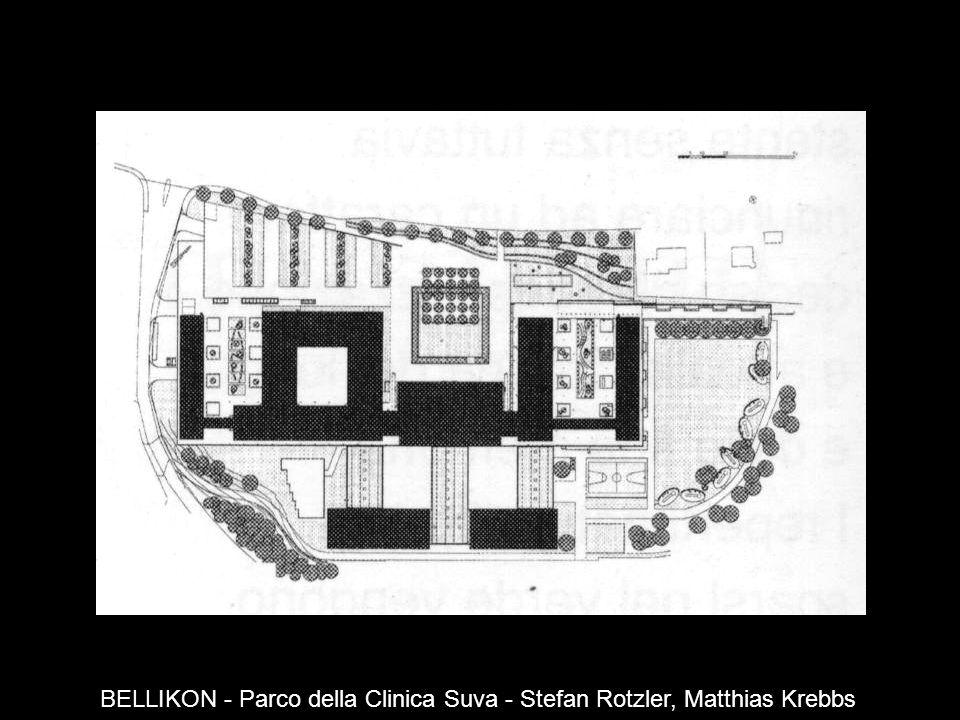 BELLIKON - Parco della Clinica Suva - Stefan Rotzler, Matthias Krebbs