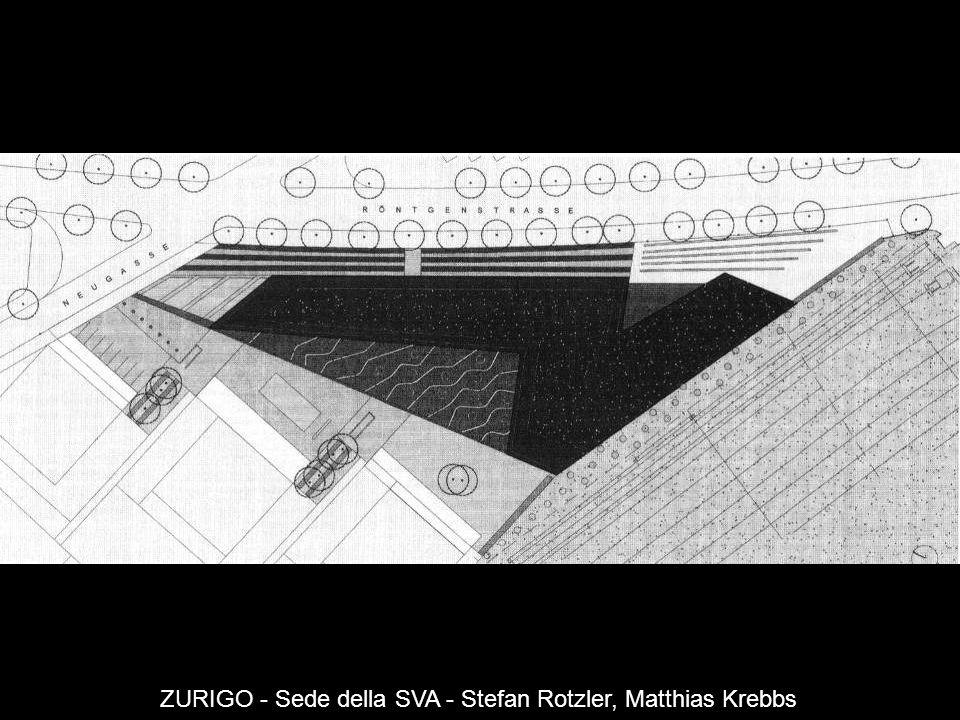 ZURIGO - Sede della SVA - Stefan Rotzler, Matthias Krebbs
