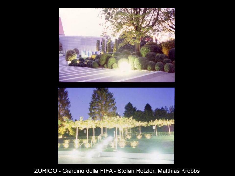 ZURIGO - Giardino della FIFA - Stefan Rotzler, Matthias Krebbs