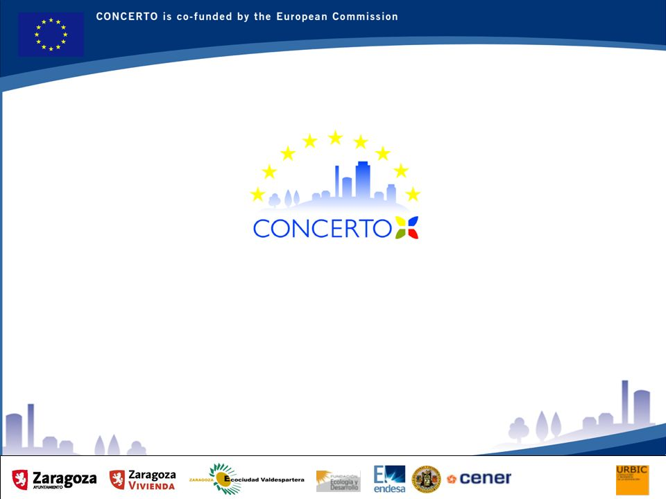 RENAISSANCE es un proyecto del programa CONCERTO co-financiado por la Comisión Europea dentro del Sexto Programa Marco RENAISSANCE - ZARAGOZA - SPAIN 7