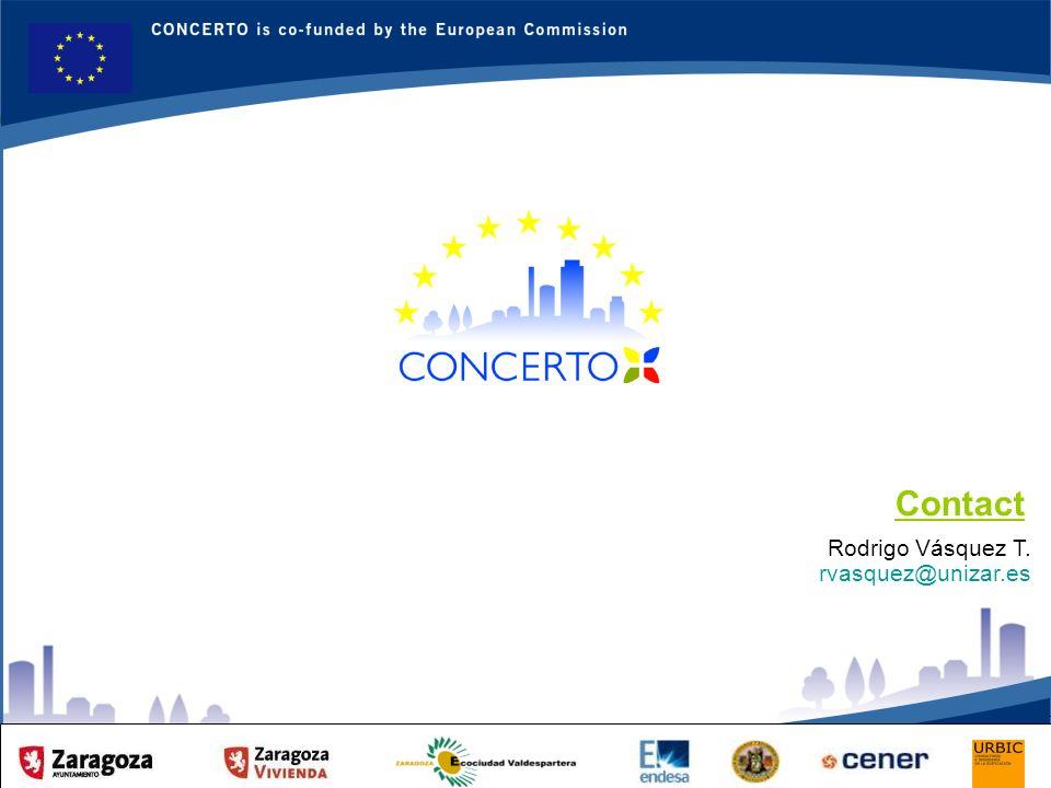 RENAISSANCE es un proyecto del programa CONCERTO co-financiado por la Comisión Europea dentro del Sexto Programa Marco RENAISSANCE - ZARAGOZA - SPAIN 24 Rodrigo Vásquez T.