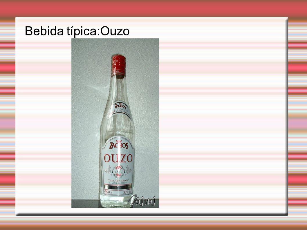 Bebida típica:Ouzo