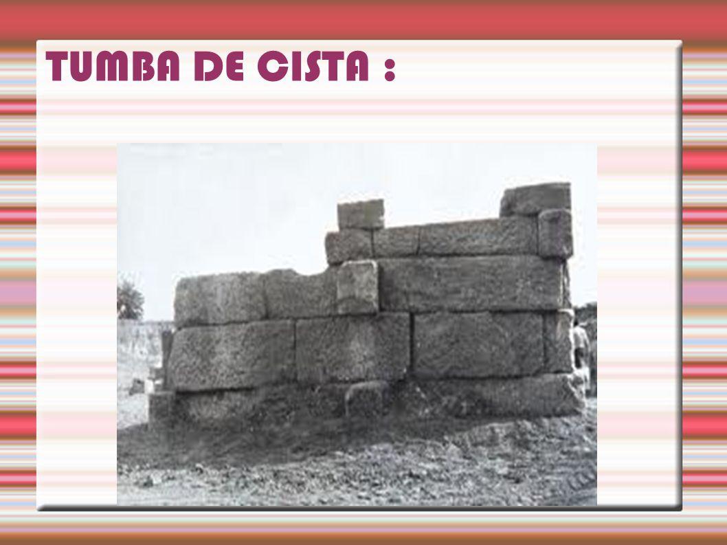 TUMBA DE CISTA :