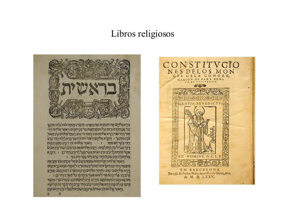 Libros religiosos