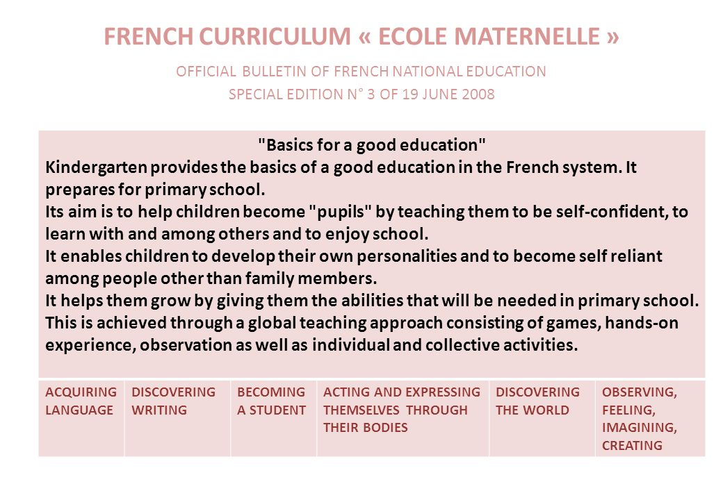 Baccalauréat S SubjectsCoefficient Mathematics7 or 9 Physics – chemistry6 or 8 Biology6 or 8 French4 History – geography3 Philosophy3 English3 Spanish or German2 Physical education2