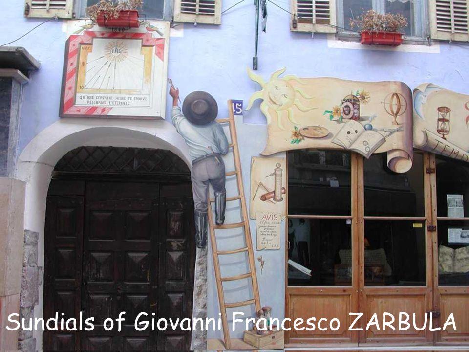 Who was Giovanni Francesco Zarbula.