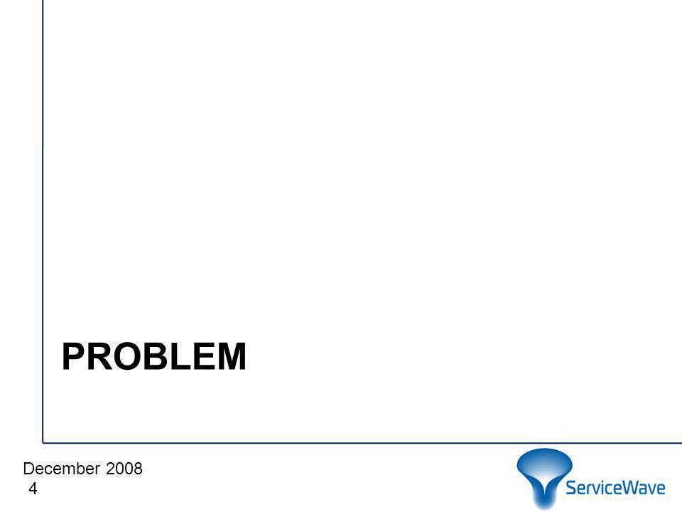 December 2008 Cliquez pour modifier le style du titre PROBLEM 4