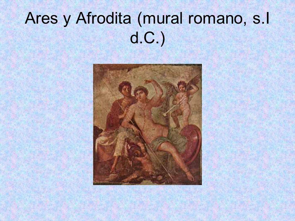 Ares y Afrodita (mural romano, s.I d.C.)