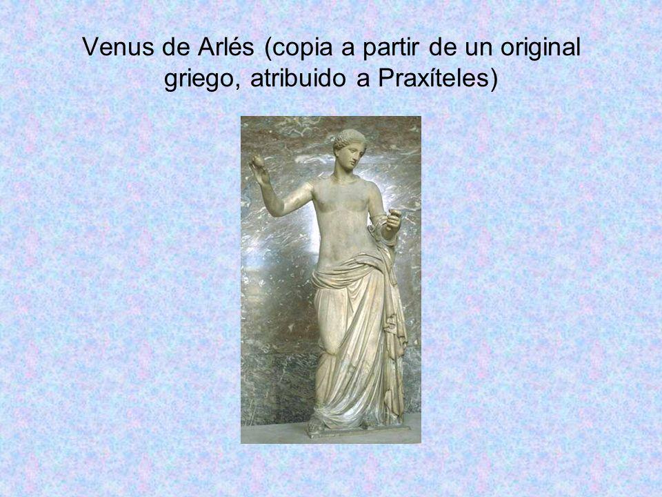 Venus de Arlés (copia a partir de un original griego, atribuido a Praxíteles)