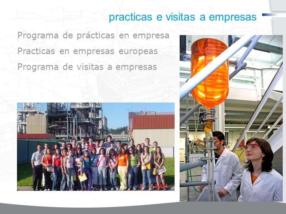 practicas e visitas a empresas Programa de prácticas en empresa Practicas en empresas europeas Programa de visitas a empresas