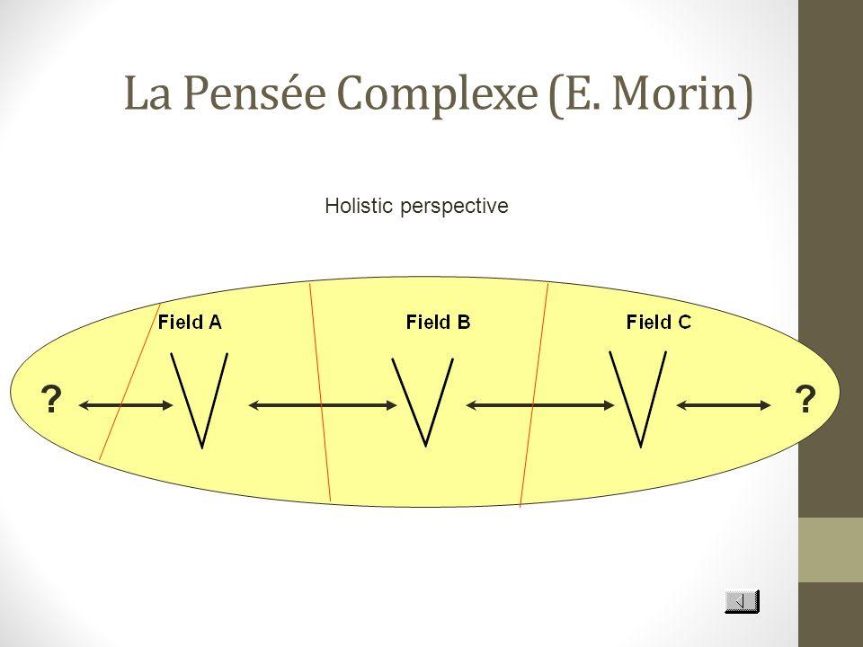 La Pensée Complexe (E. Morin) ?? Holistic perspective