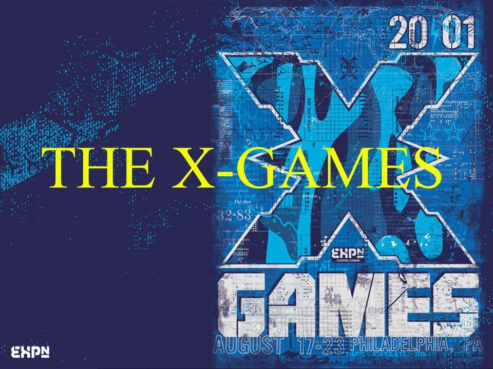 THE X-GAMES