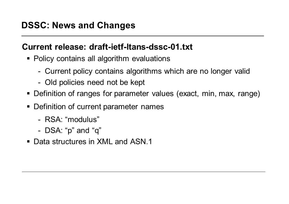 DSSC example RSA 1024 1.3.14.3.2.26 1024 2007-12-31
