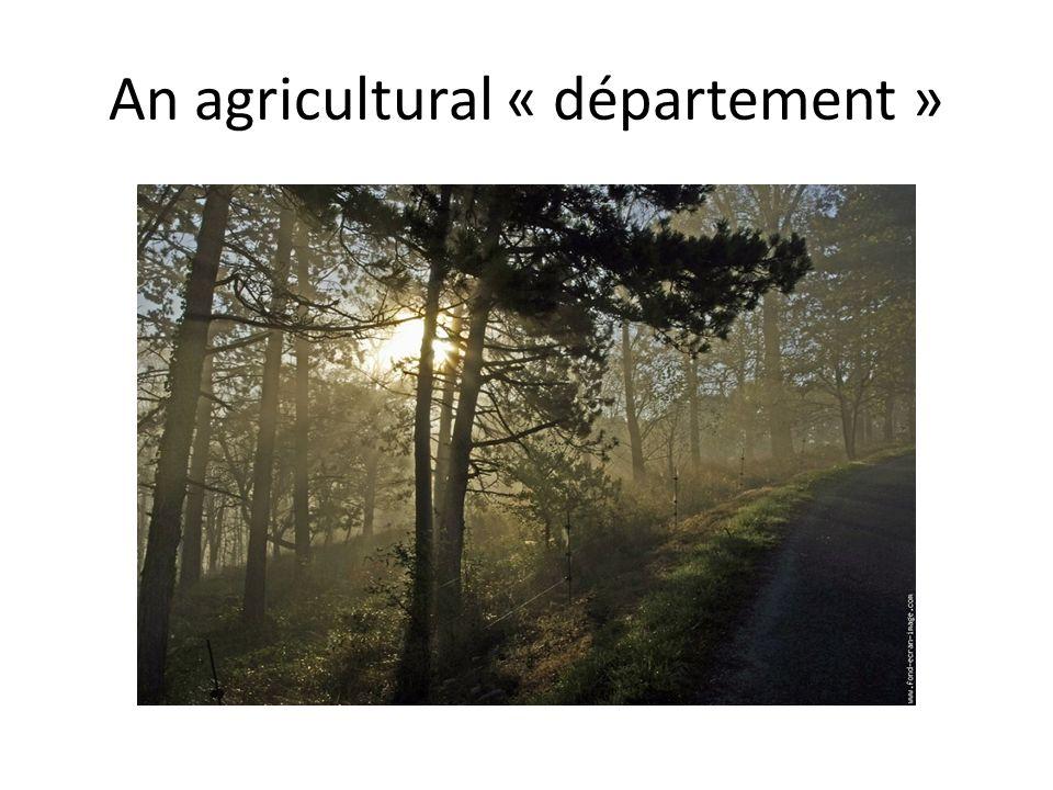 An agricultural « département »
