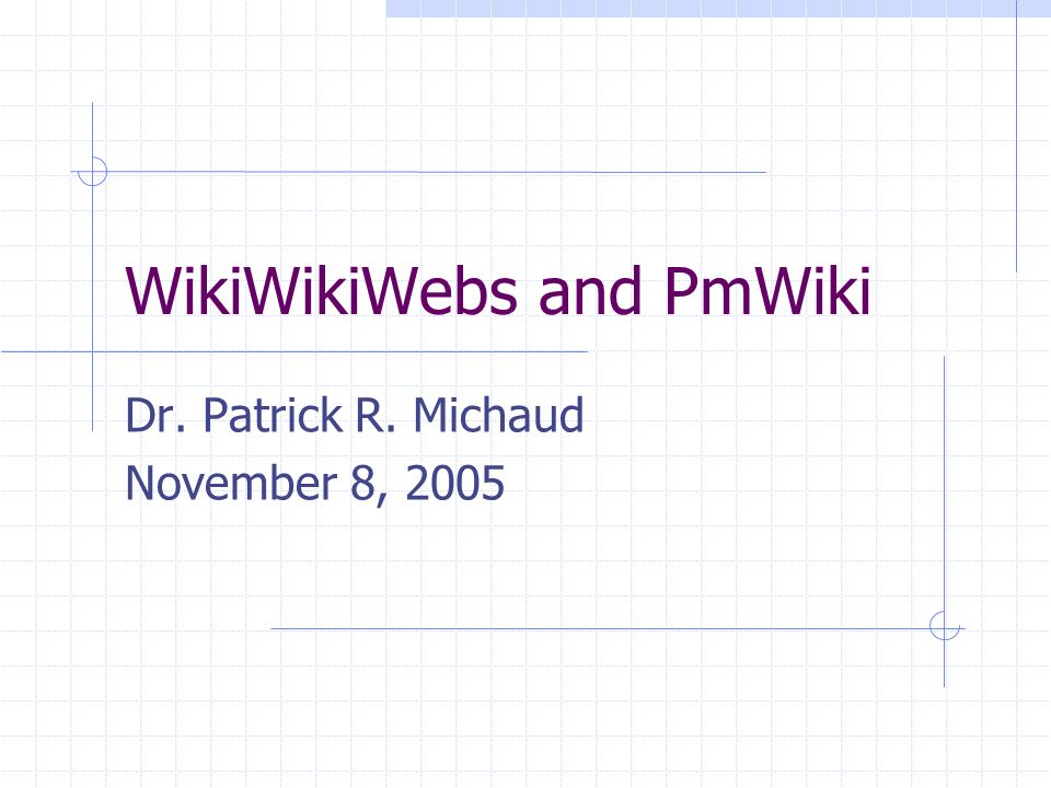 Why Wiki markup over HTML.