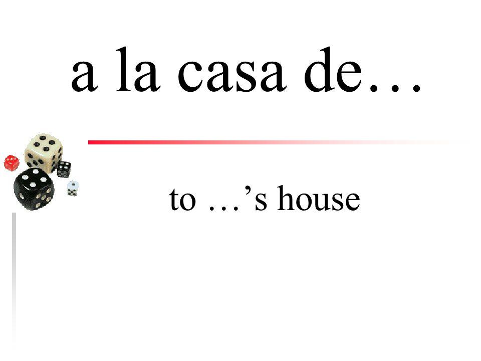 a la al (a + el) to the