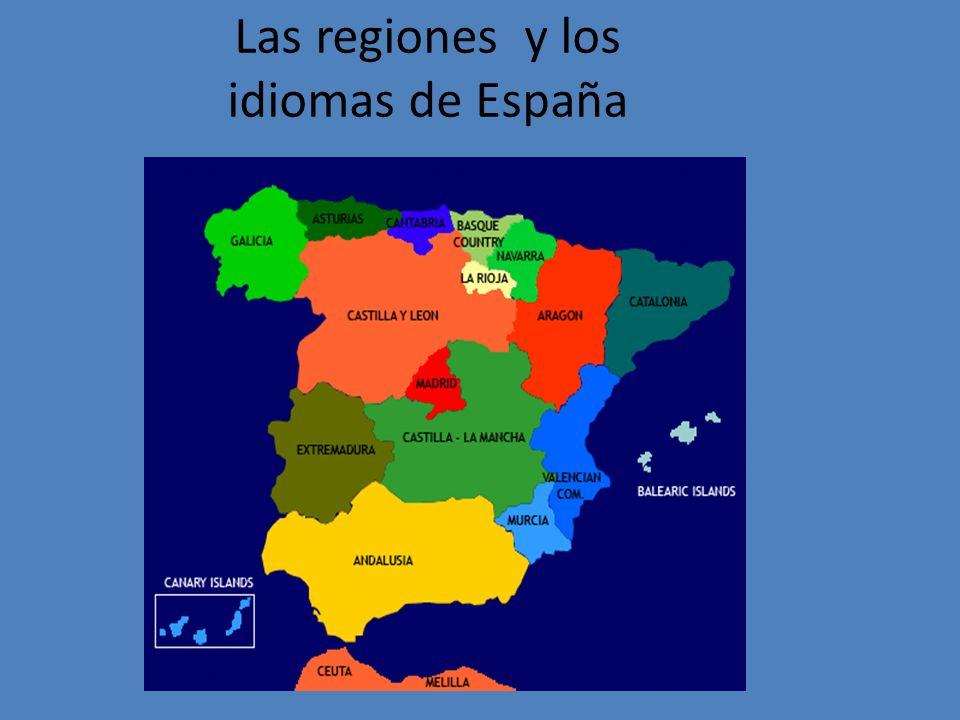 Las regiones y los idiomas de España