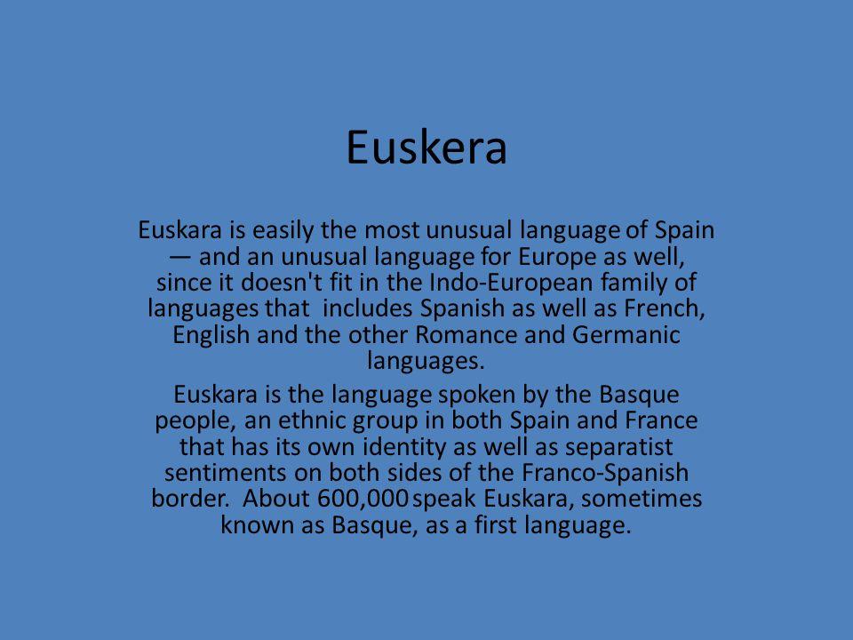 Castilian Spanish vs.