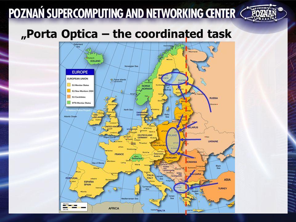 Porta Optica – the coordinated task