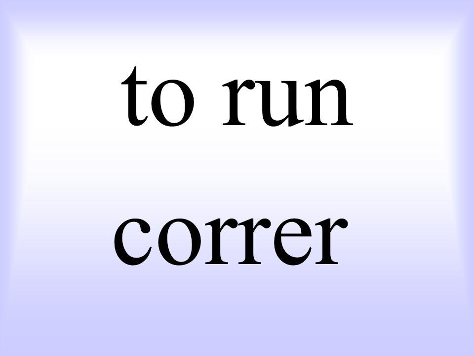 to run correr