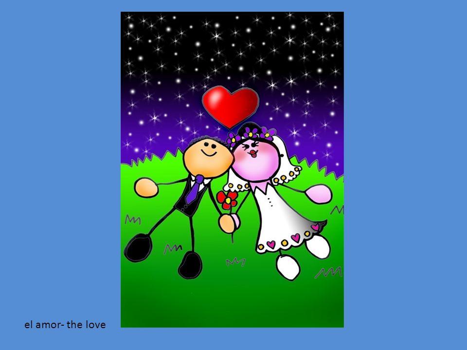 el amor- the love