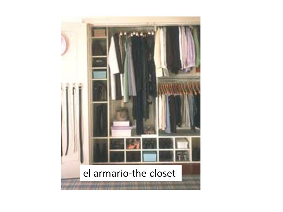 el armario-the closet