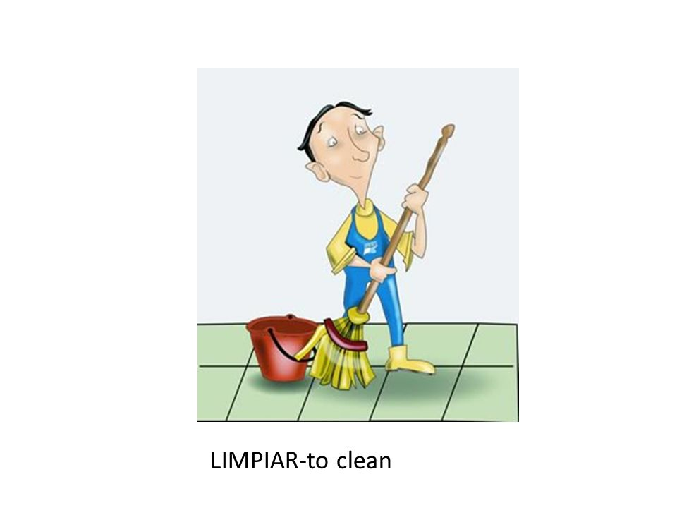LIMPIAR-to clean