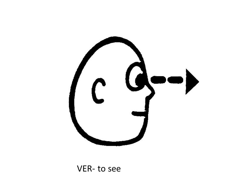 VER- to see