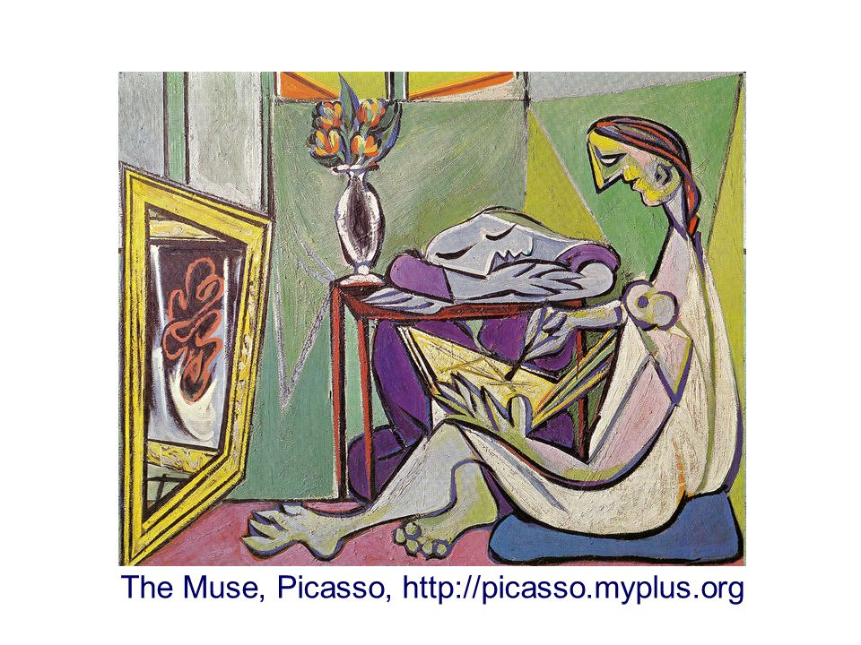 The Muse, Picasso, http://picasso.myplus.org