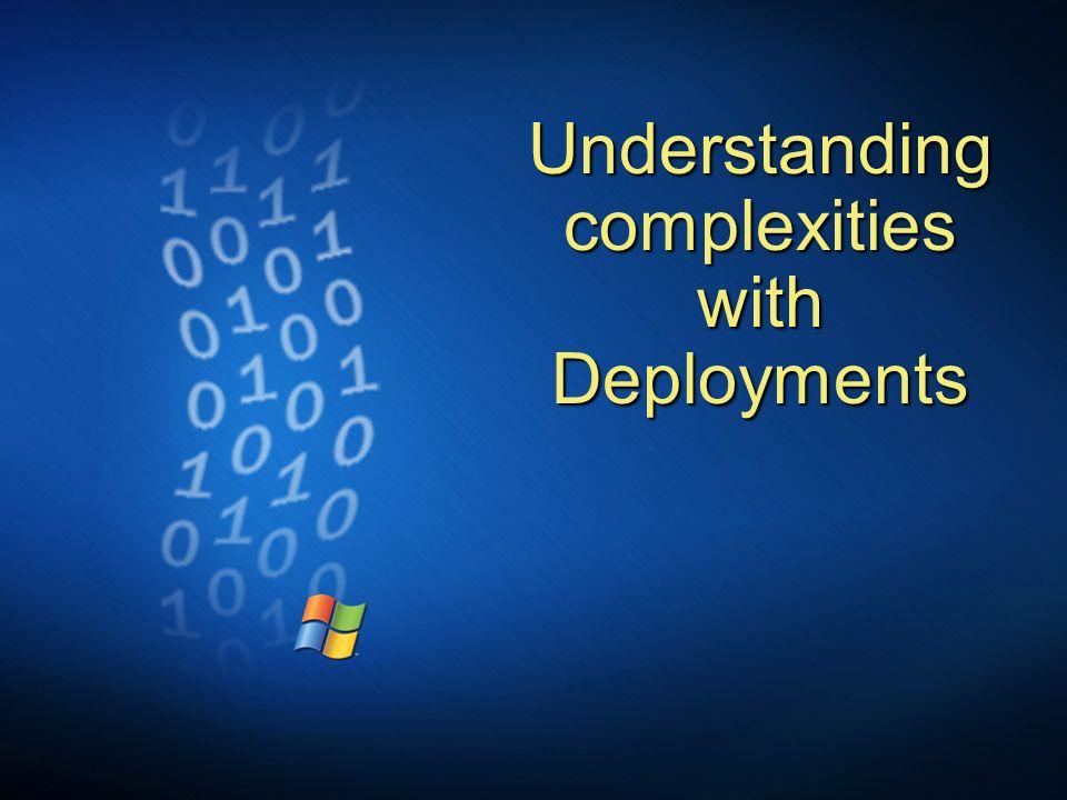 Understanding complexities with Deployments