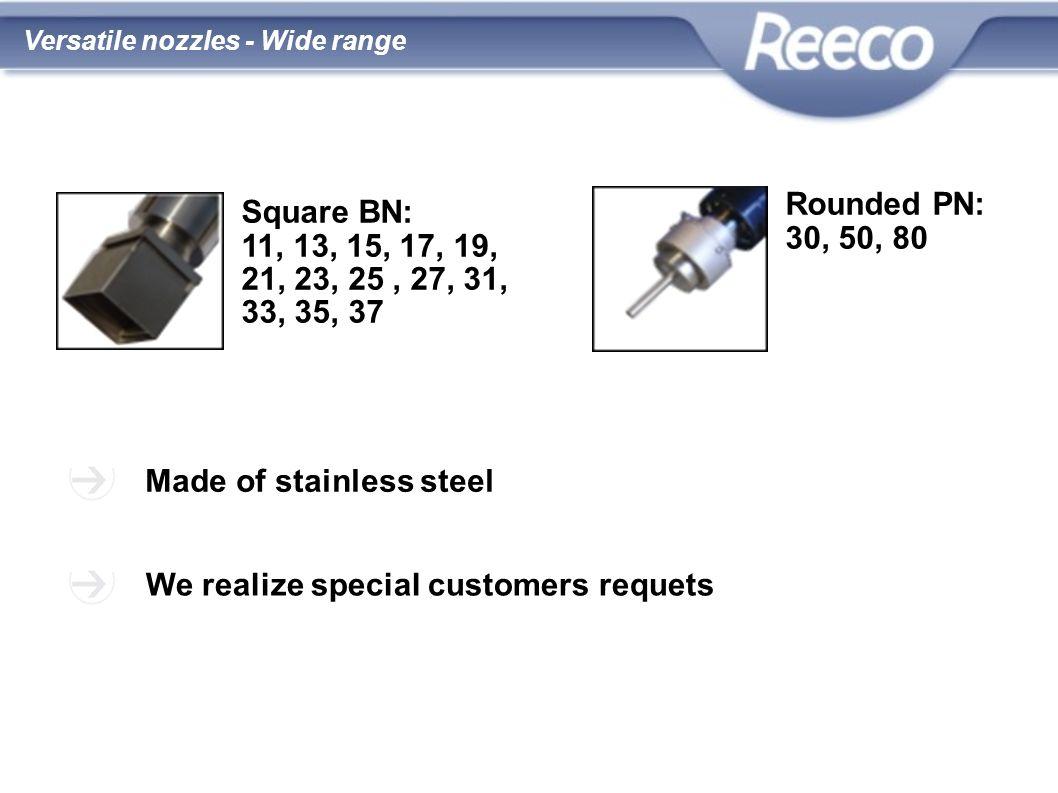 wysoka jakość atrakcyjna cena zgodność z CE i RoHS Made of stainless steel We realize special customers requets Square BN: 11, 13, 15, 17, 19, 21, 23,