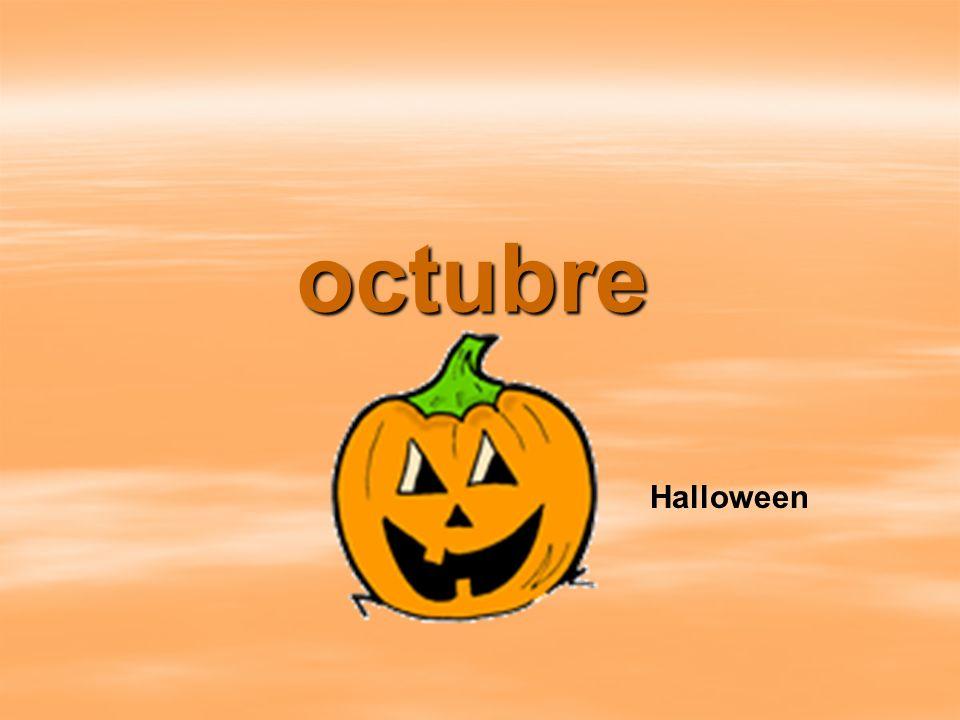 octubre Halloween