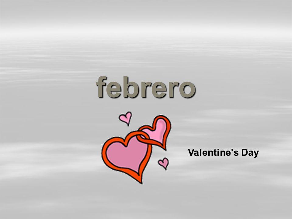 febrero Valentine s Day