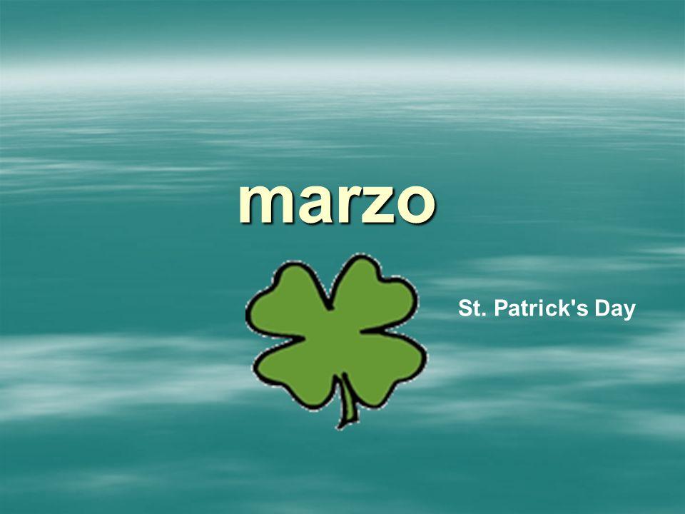 marzo St. Patrick s Day