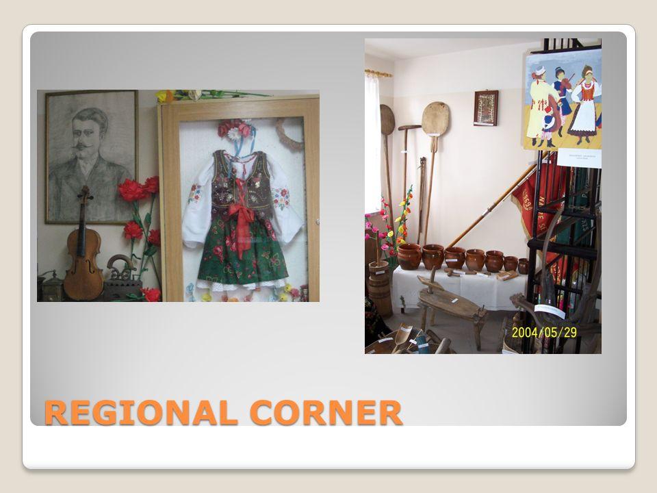 REGIONAL CORNER