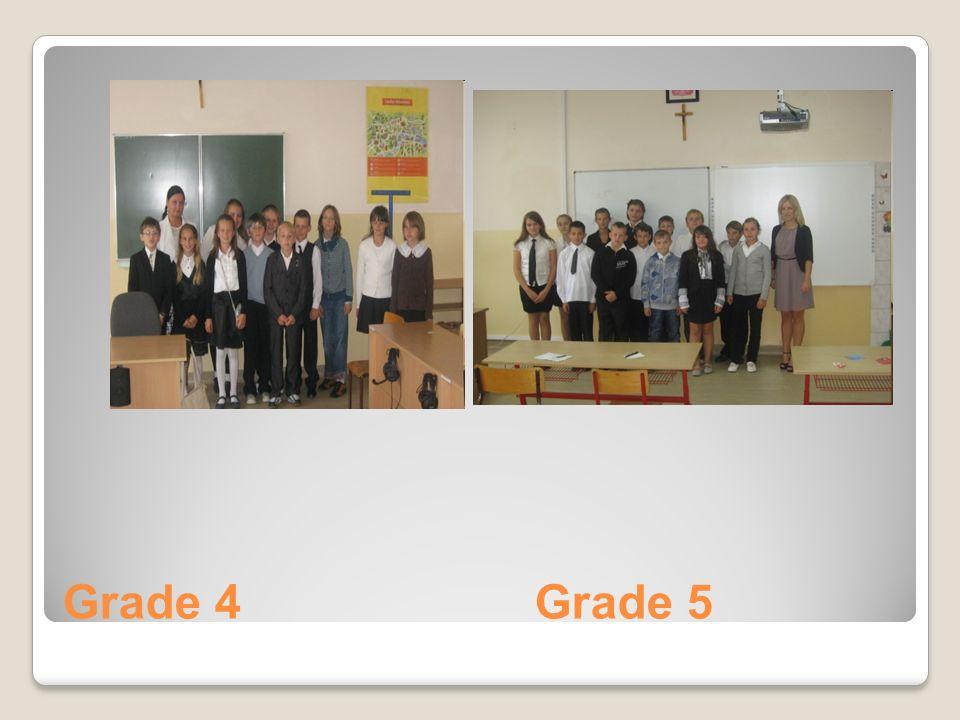 Grade 4 Grade 5