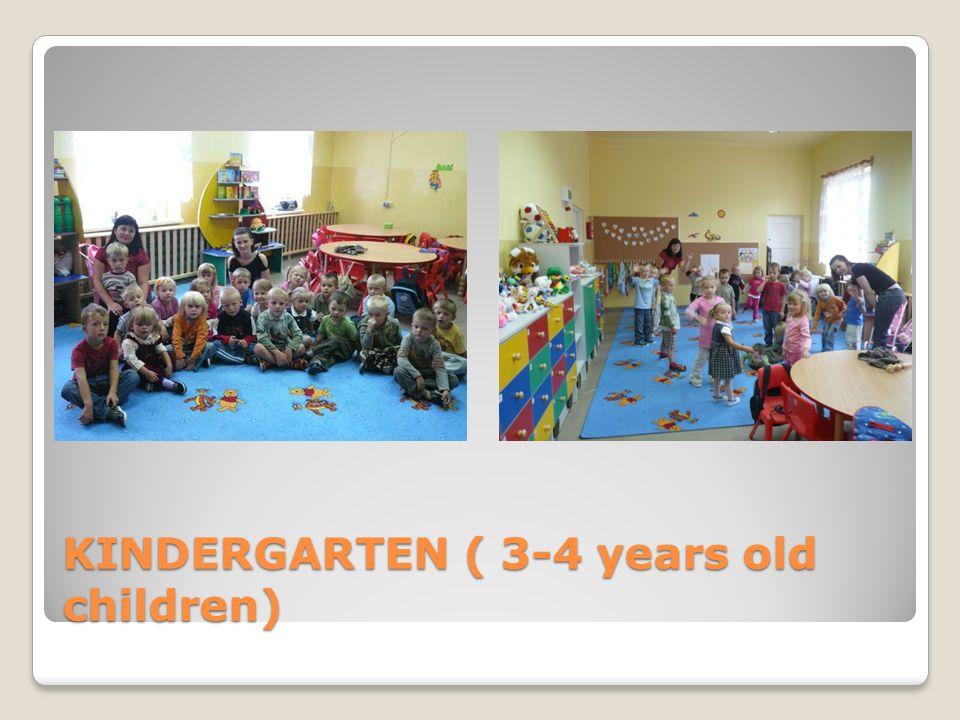 KINDERGARTEN ( 6 YEARS OLD CHILDREN)