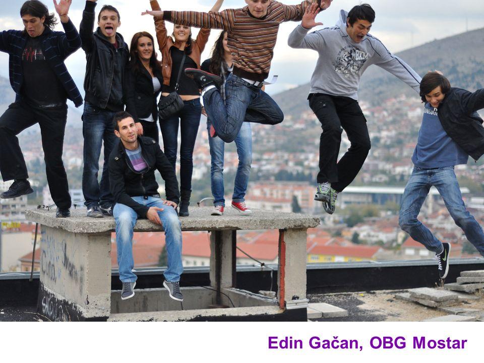 Edin Gačan, OBG Mostar