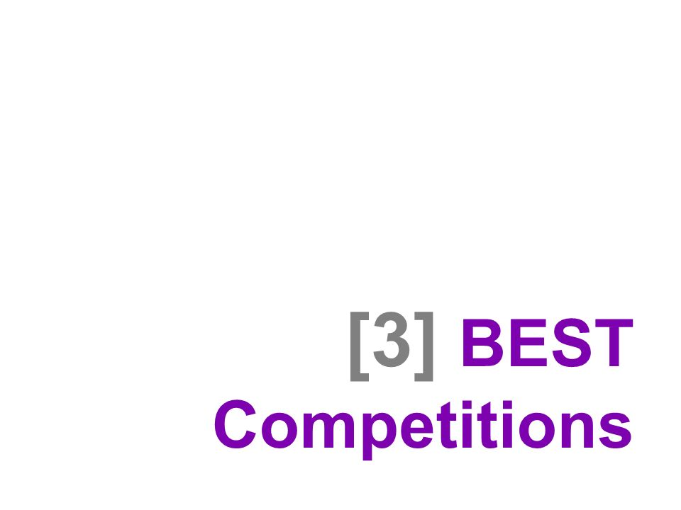 [3] BEST Competitions