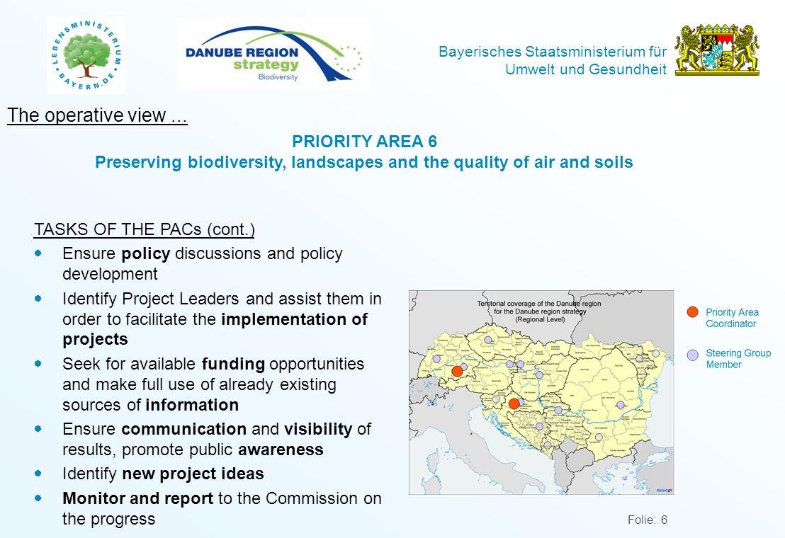 Bayerisches Staatsministerium für Umwelt und Gesundheit Folie: 7 Conclusions...