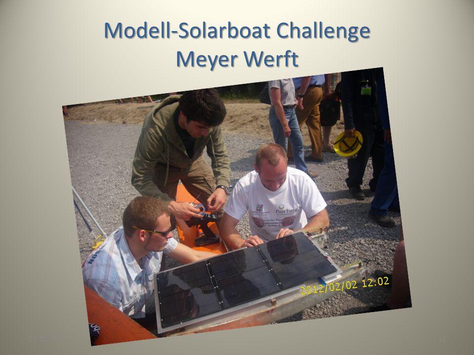 03.11.201332 Modell-Solarboat Challenge Meyer Werft