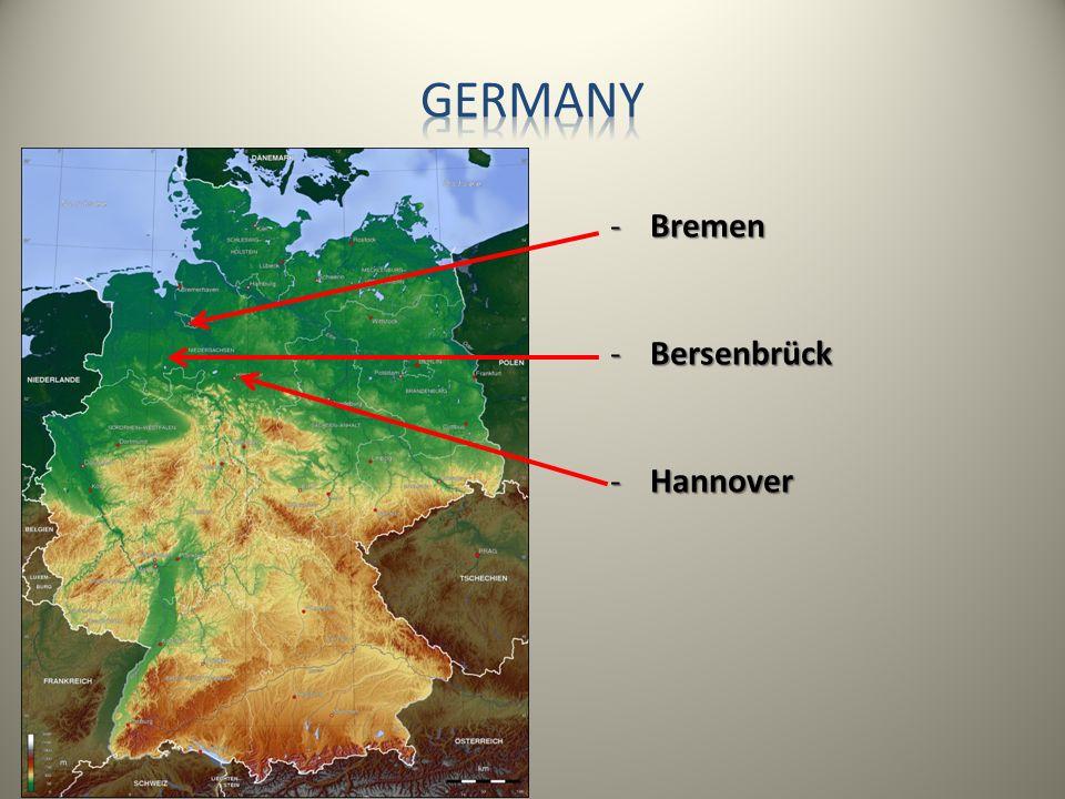-Bremen -Bersenbrück -Hannover