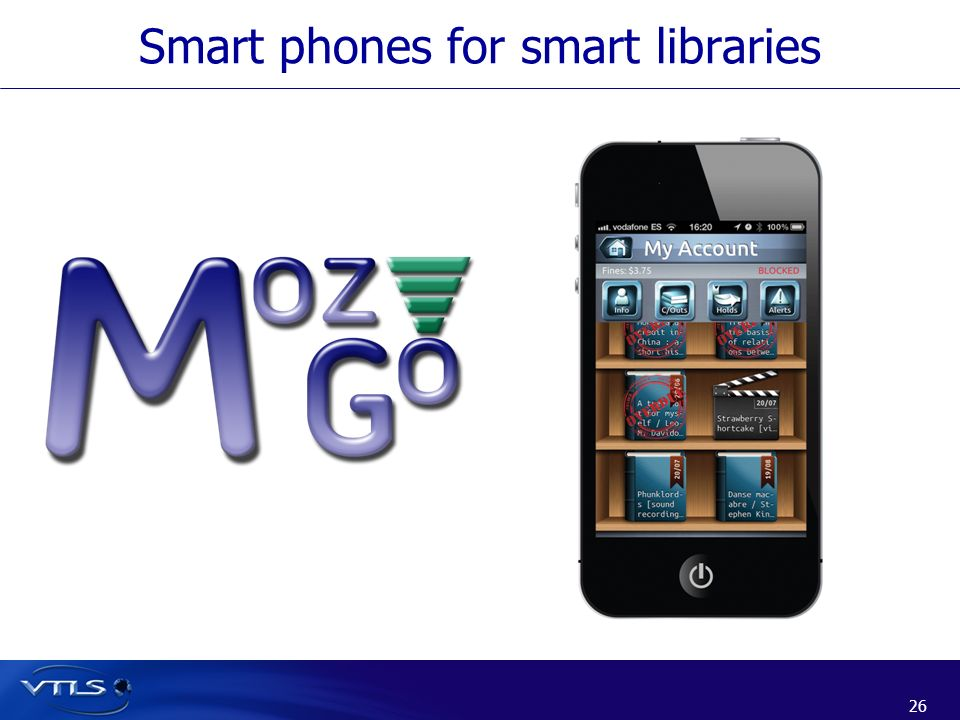 26 Smart phones for smart libraries