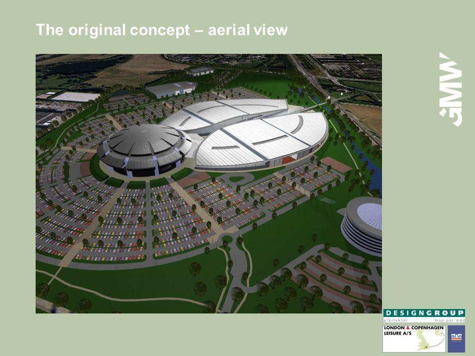 The original concept – aerial view