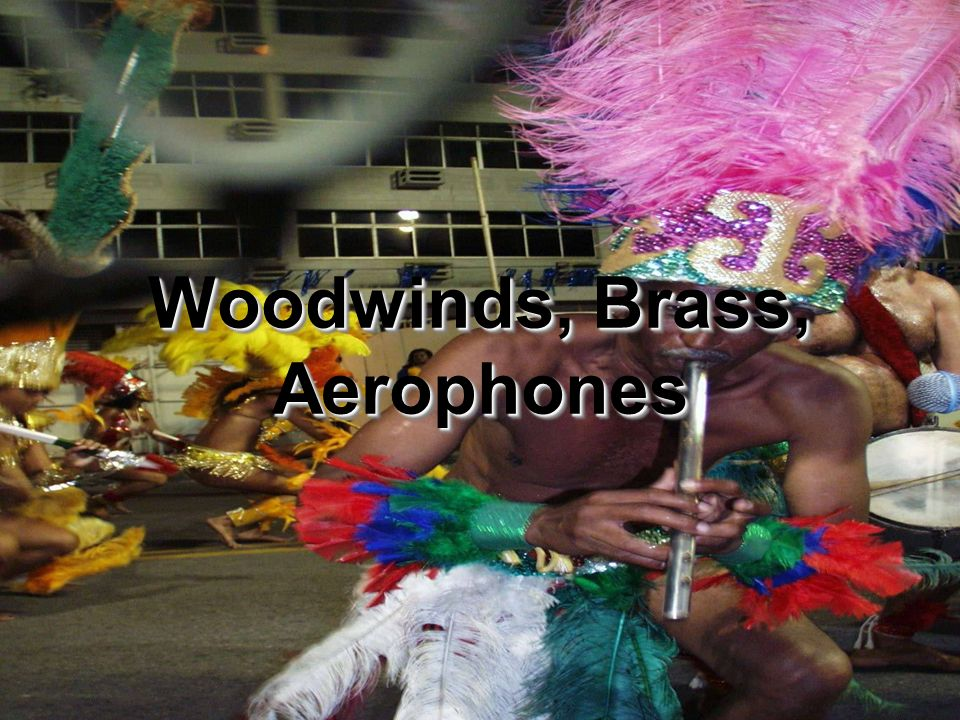 Woodwinds, Brass, Aerophones
