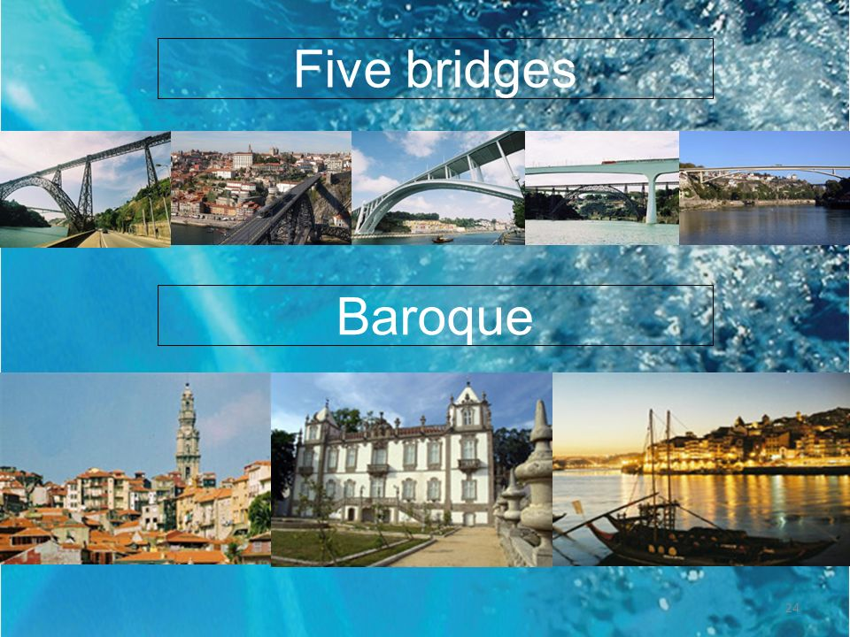 Five bridges Baroque 24