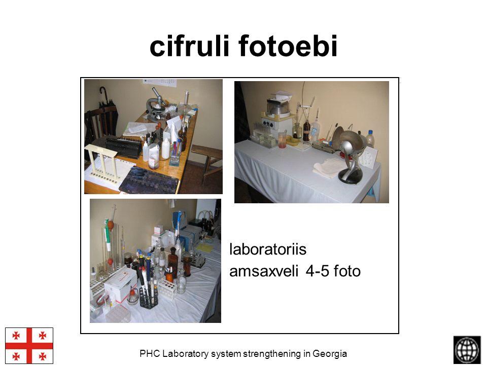 PHC Laboratory system strengthening in Georgia cifruli fotoebi laboratoriis amsaxveli 4-5 foto