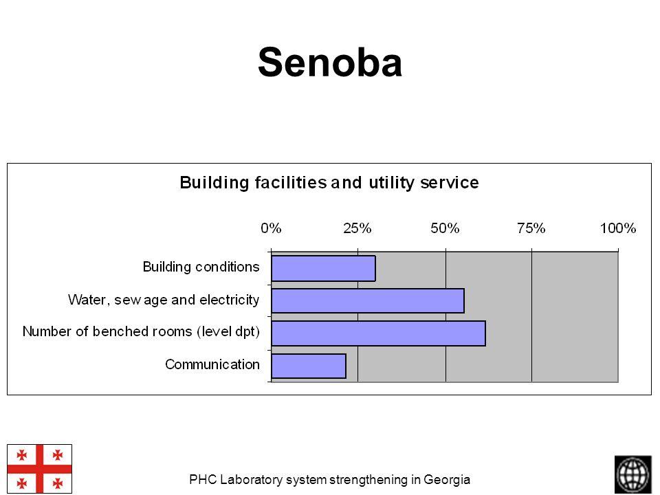PHC Laboratory system strengthening in Georgia Senoba